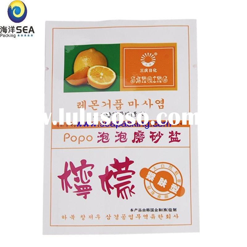 Three side seal Biodegradable food packing bag