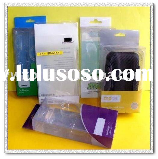 Transparent clear pp folding plastic packaging box