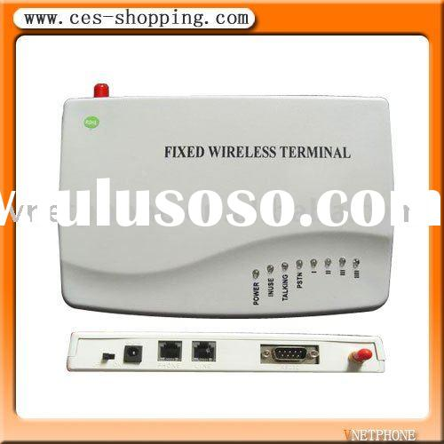 VOIP GSM gateway fixed wireless terminals with RJ11 ports