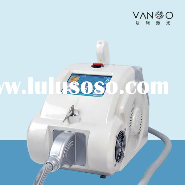 W-IPL laser hair removal, skin rejuvenation machine to doctor