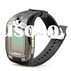 Watch Cell Phone - 1.3-inch Touch Screen, Triband Watch Mobile Phone, 1.3-megapixel Camera, MP3/MP4/