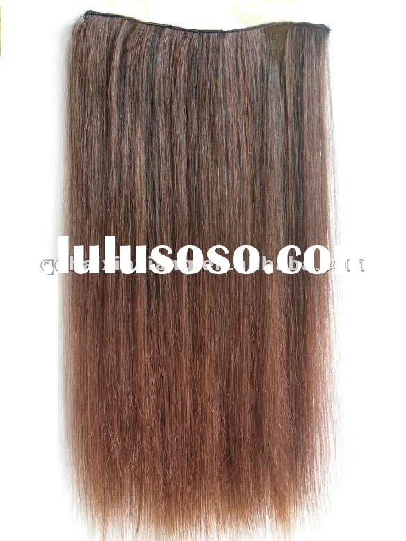 Wholesale Low price high quality Fashion ladies` human hair weaving extensions