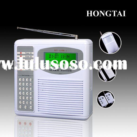 Wireless Home Alarm System with 16-Wireless Zone and Contact ID Compatibility