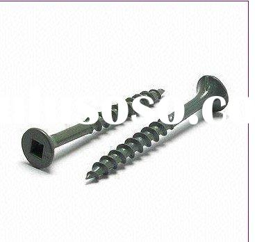 Wood Screw Flat Head With 8 Nibs Square