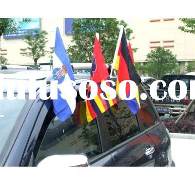 Woven and knitted Polyester Car Flag