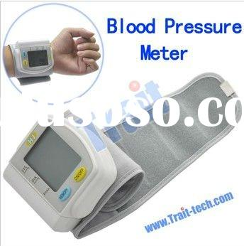 Wrist Full Automatic Electronic Blood Pressure Meter