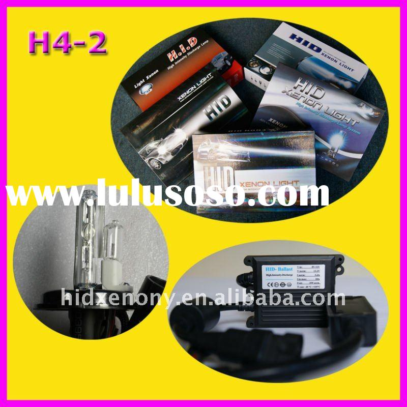 auto hid bulb kit H4-2,12v 24v 35w car hid headlight kit