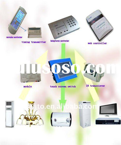 bidirectional X10/PLC smart home automation system /remote lighting system