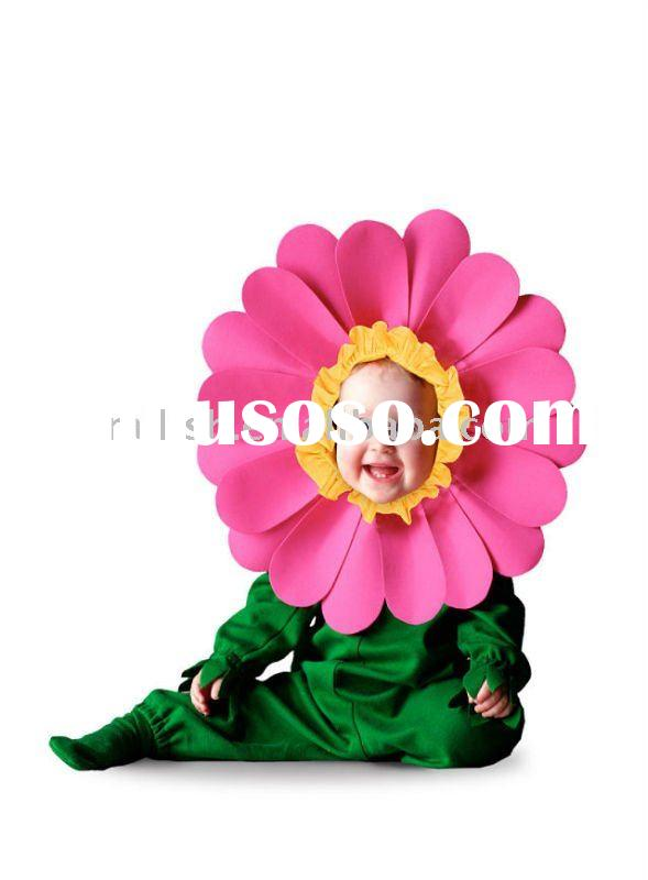 carnival/halloween children flower fancy dress costumes MAC-0131