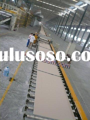 china gypsum board production machine sheetrock plaster drywall machine