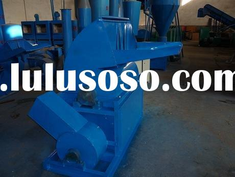 combined wood chipping and crushing machine( suitable the wood and straw)