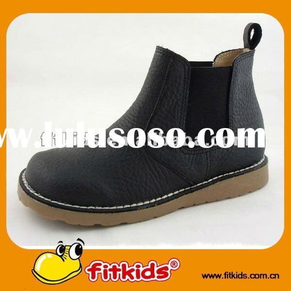 comfortable soft leather ankle women leather winter boots