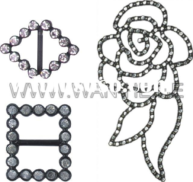 diamond buckles,shoe accessories,fashion buckles with diamond