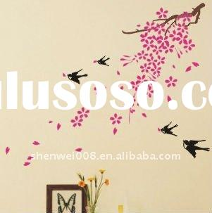 eco-friendly fashion wall sticker