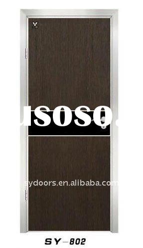 ecotypic door double door with melamine film hot sell (with high quality)