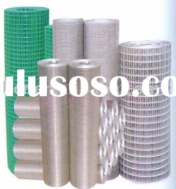 electric galvanized welded iron wire mesh 50*50