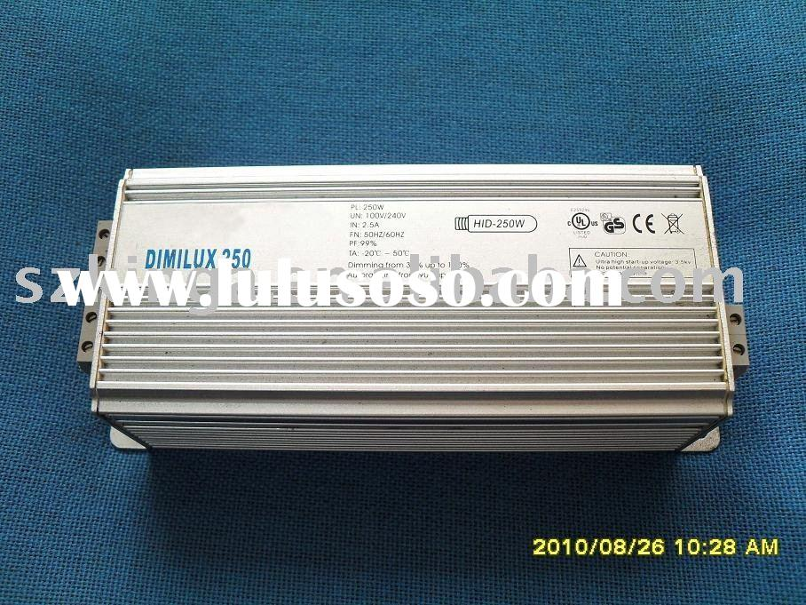 electronic ballasts for 250W HPS/HID Lamps
