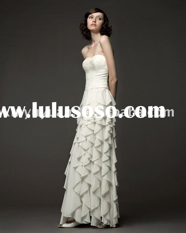elegant and vintage hot sale new design evening dresses VED-001