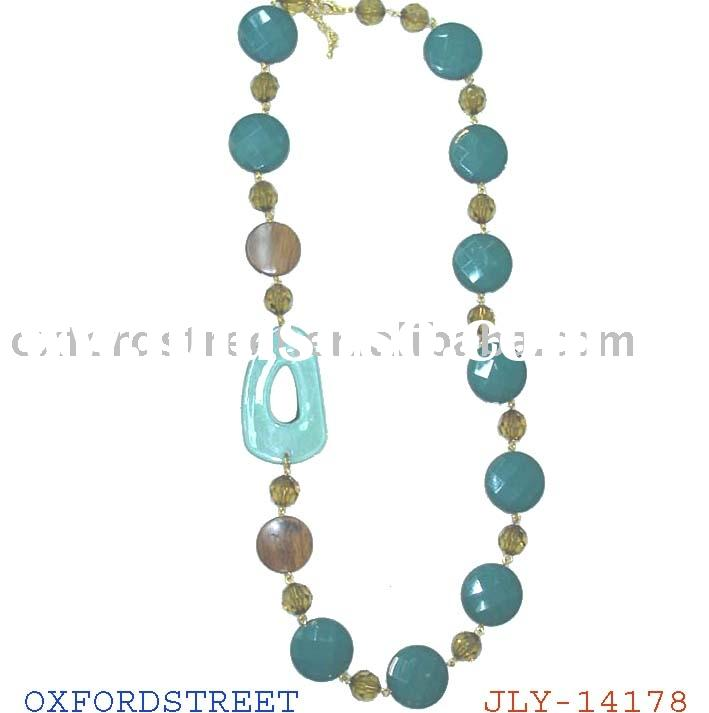 fashion acrylic beads necklace