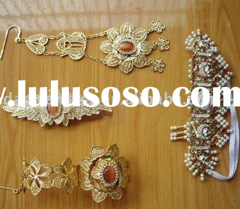 fashion alloy african necklace set( S7014 )