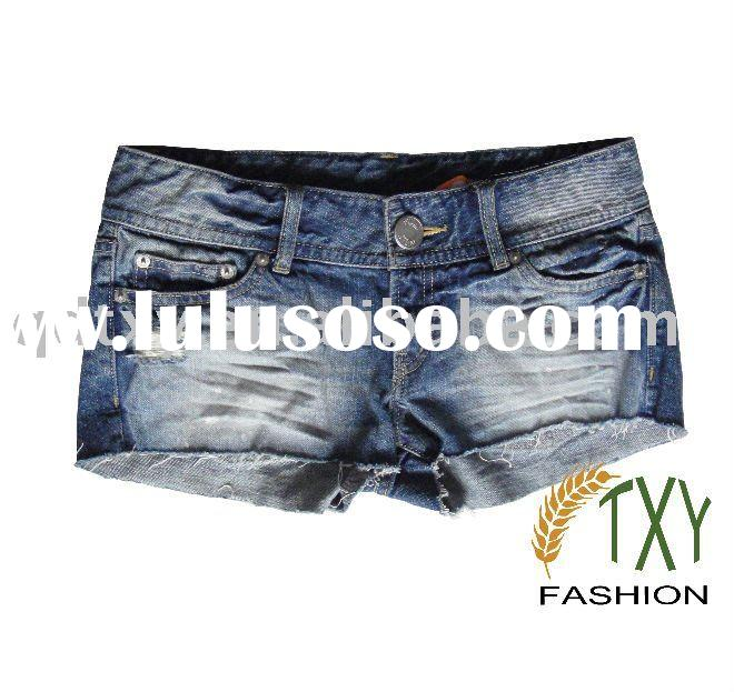fashion girl jeans short (2011 new style)