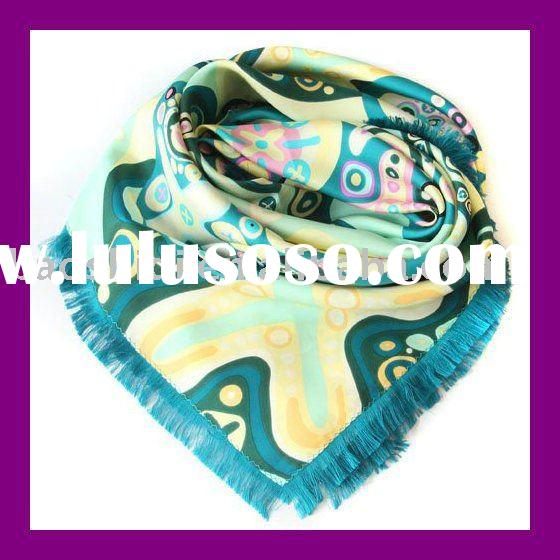 fashion natural silk scarves