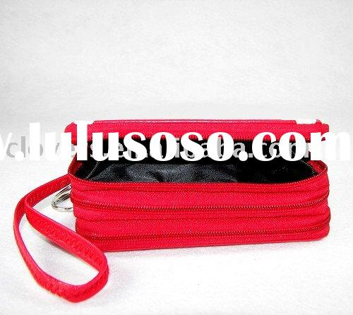 fashion red and cheap women's wallet with hot sales style