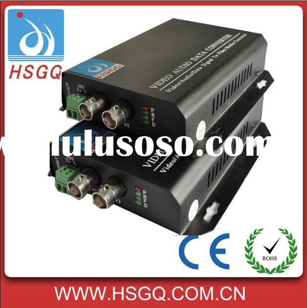 fiber optic audio transmitter and receiver