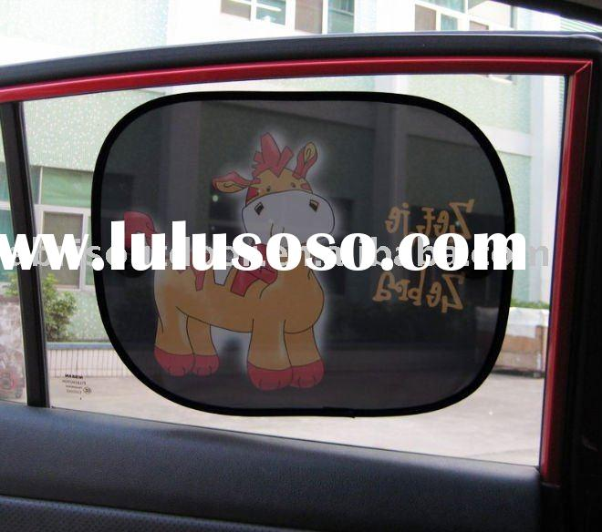 foldable auto car side windows sun screen shades customized