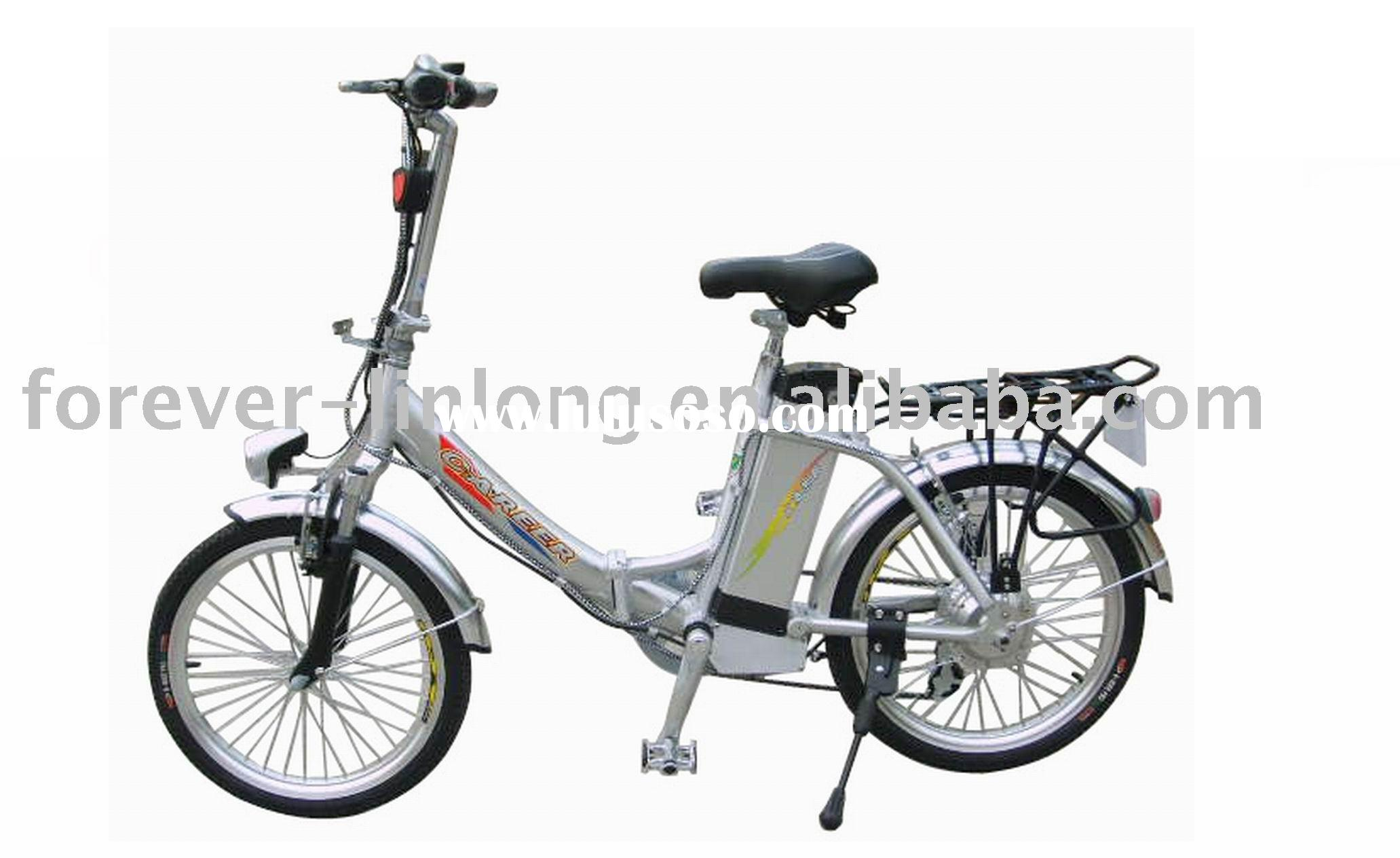 folding lithium battery electric bicycle
