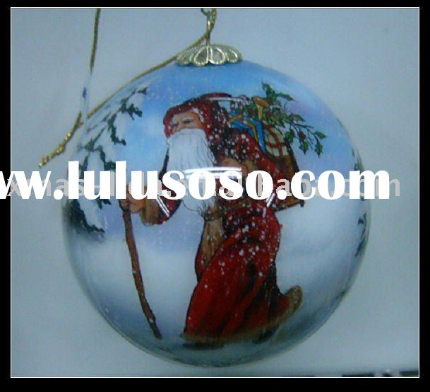 hand-painted glass ball christmas ornaments