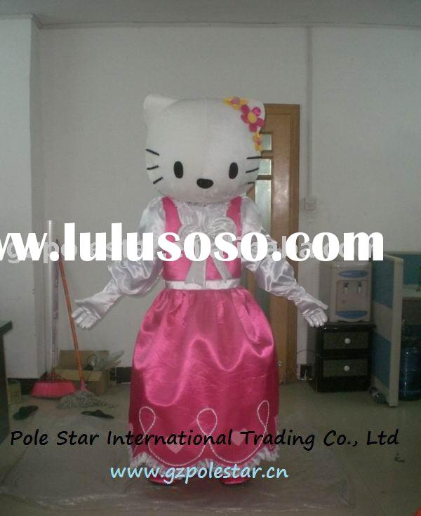 hello kitty party dress costume