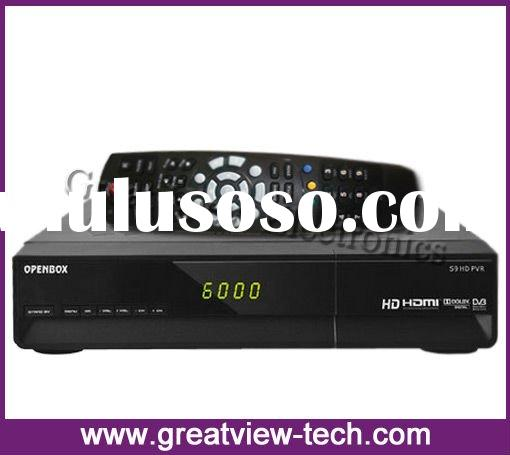 high definition satellite receiver Openbox s9 PVR HD dvb-s2 set top box digital satellite receiver w