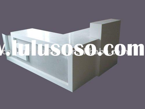high quality Formica surell made reception table