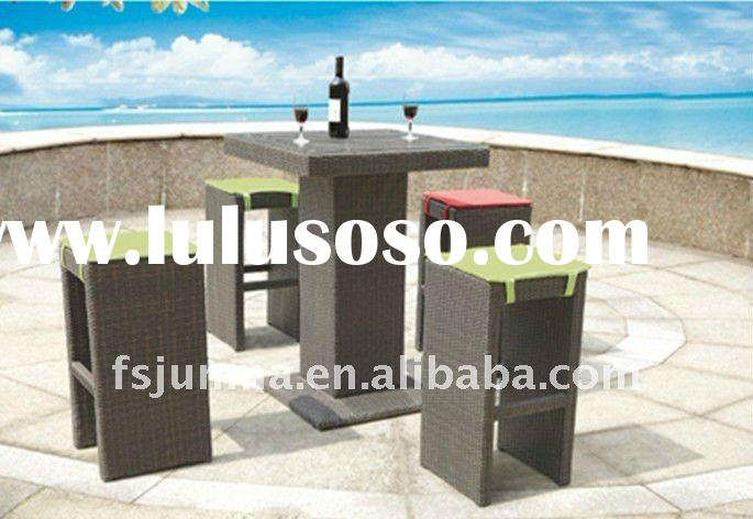 hot sell/hotel furniture /garden furniture/out door /indoor/ fashion / PE rattan/aluminum /stores /t