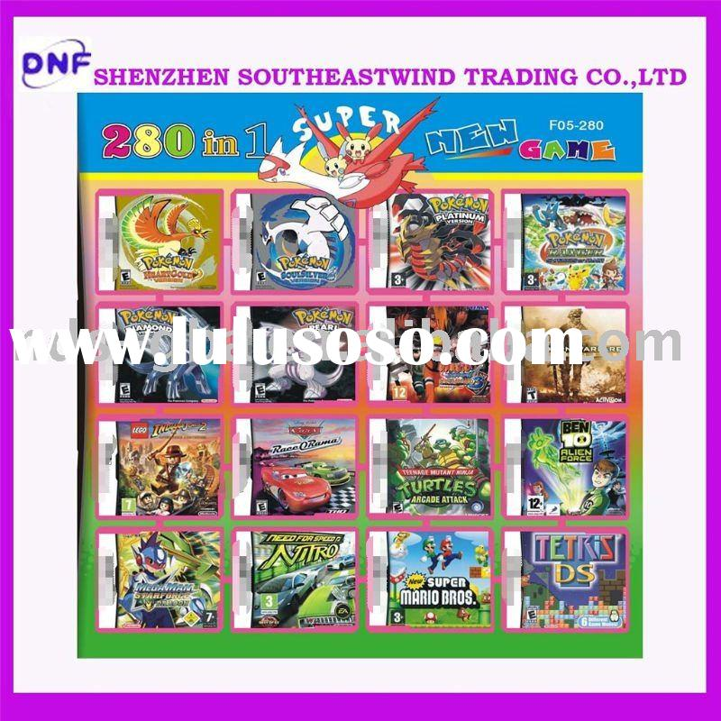 hot selling games card for DS/DSI/DSL/NDSIXL /DS LITE console