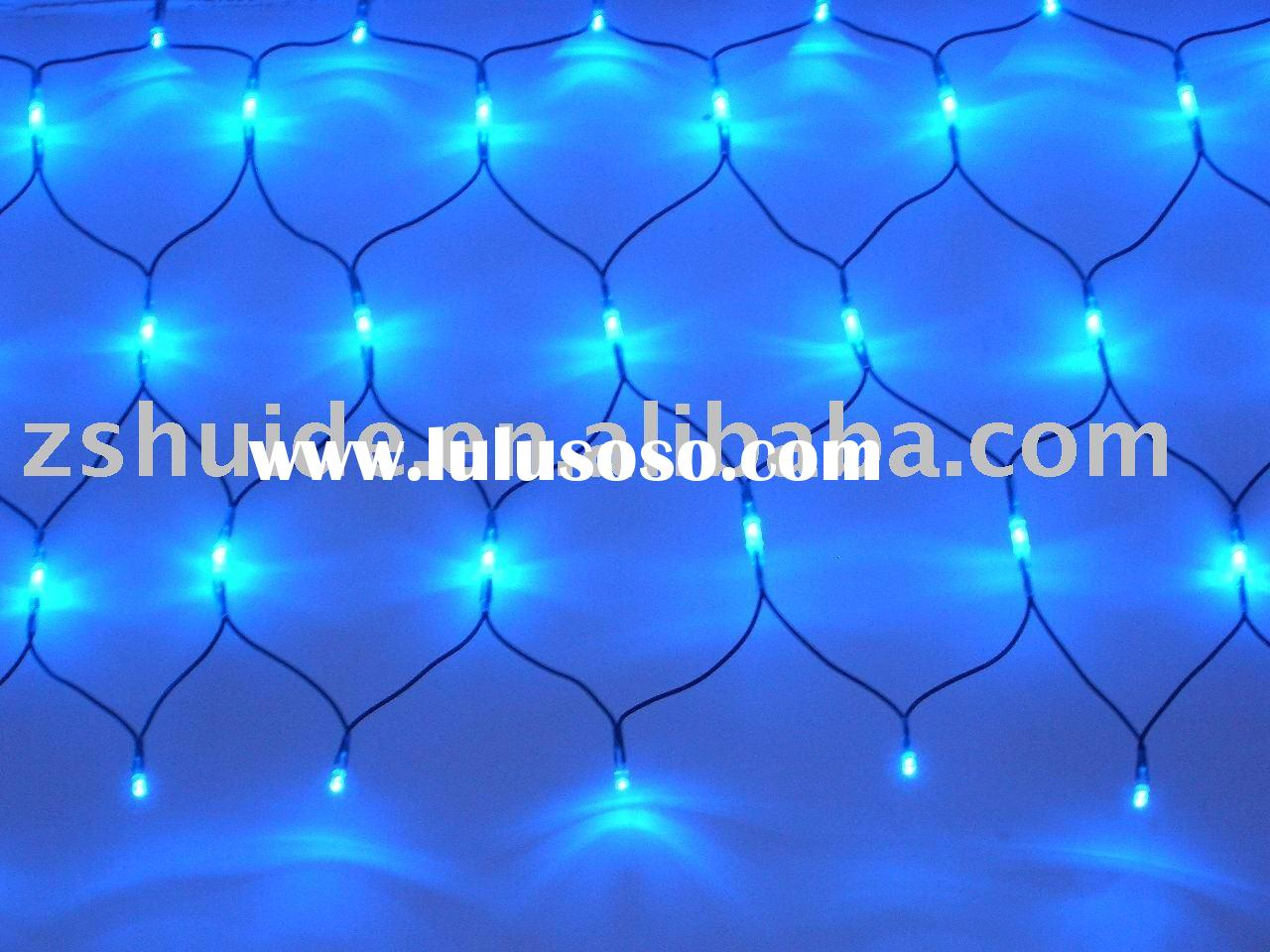 led christmas net light