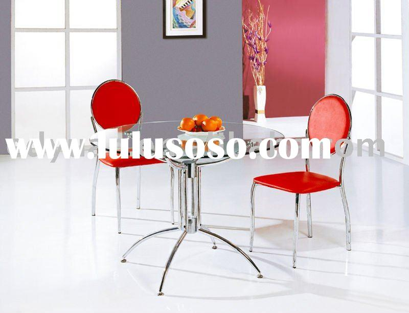 metal dining table chair