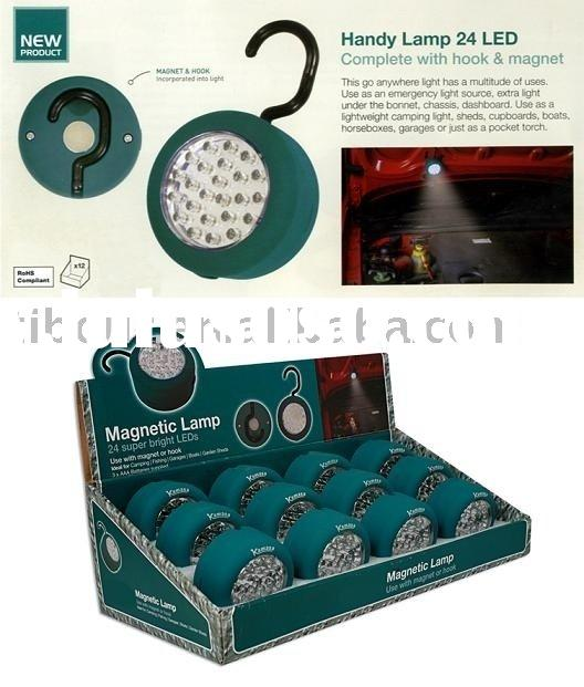 mini 24 LED Wireless Puck Touch Light lamps(new products)