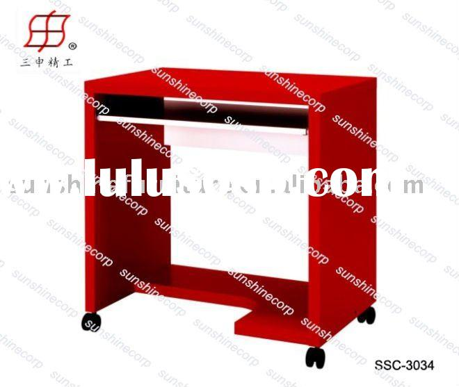 computer table desk movable mordern simple office computer table