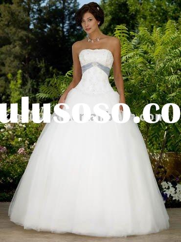 new fashion 2011 outdoor ball gown style wedding dresses RDW-023