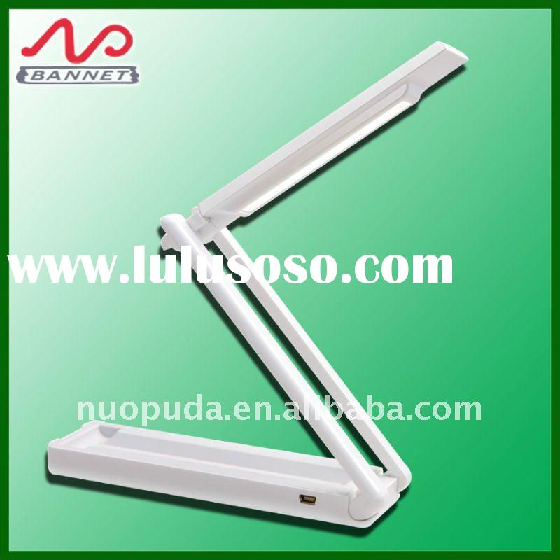newest folding style eyeshield battery led table lamps, foldable led reading lamps