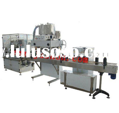 oil filling, capping, label making machines