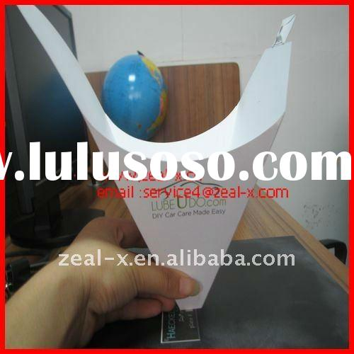 paper funnel use for oil paint filtering