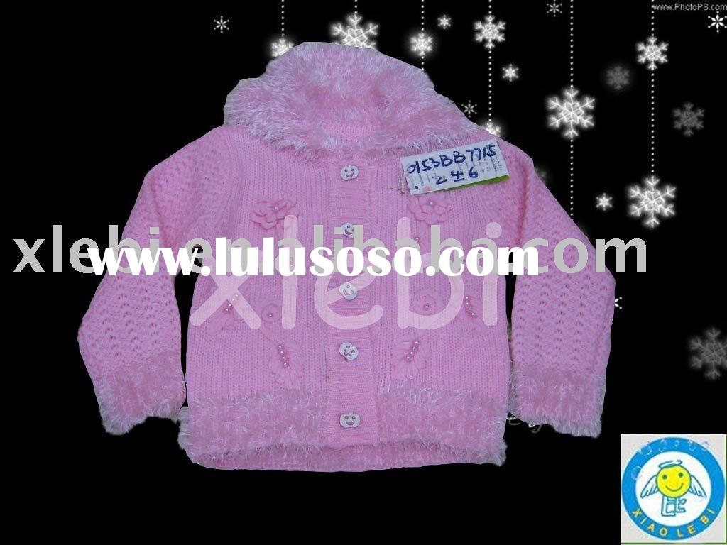 popular elegant fashion design children garment,child wear,kid clothing for girl's cardigan