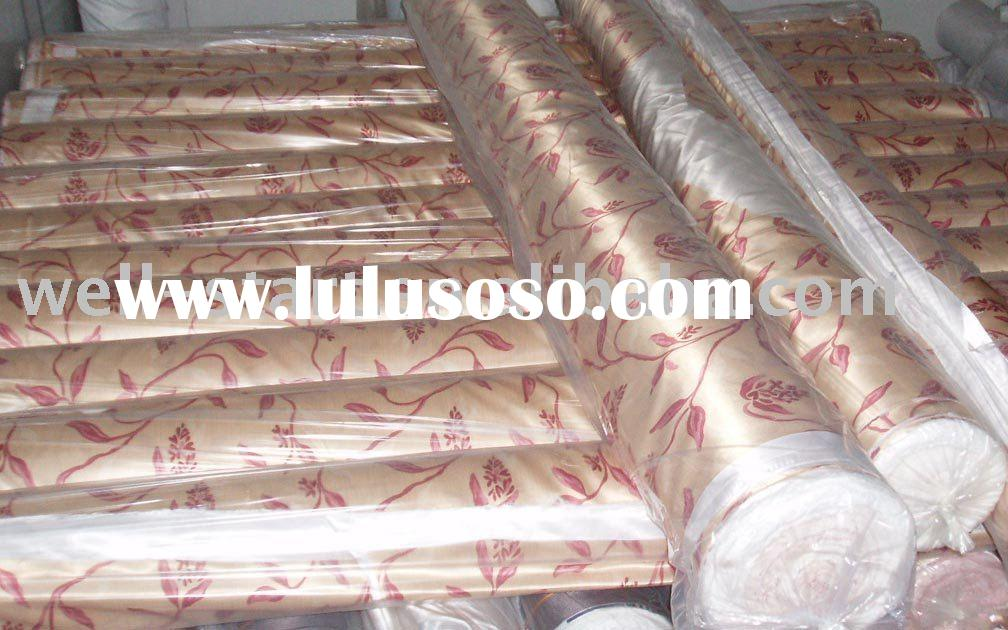 printed 100% polyester satin fabric for bedsheets