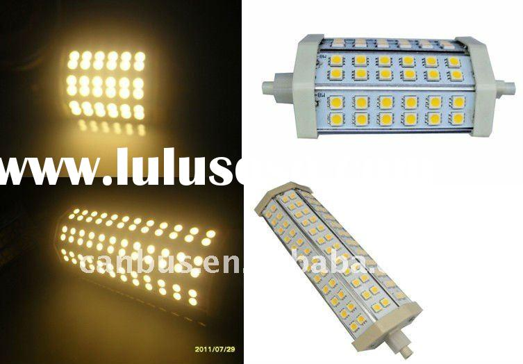 r7s led lamp with a 8 watt power consumption,
