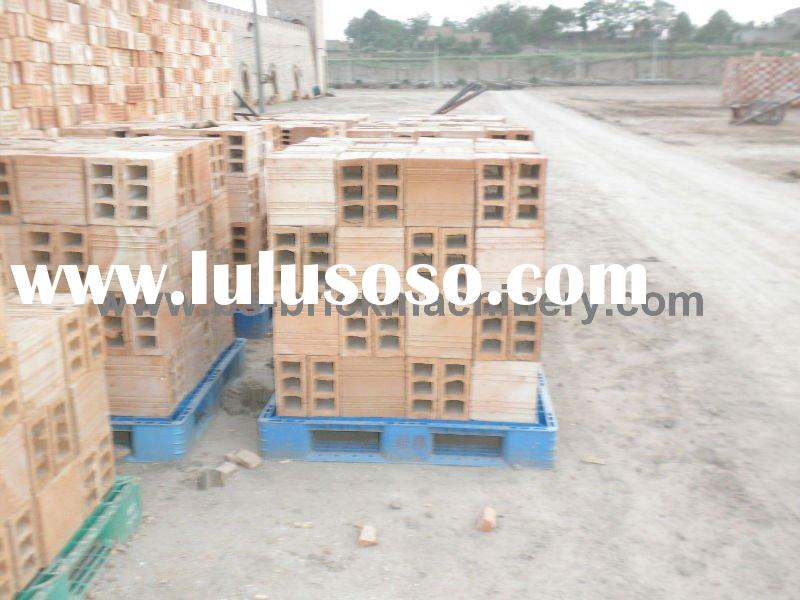 sample red hollow clay bricks ( hollow clay brick machine )