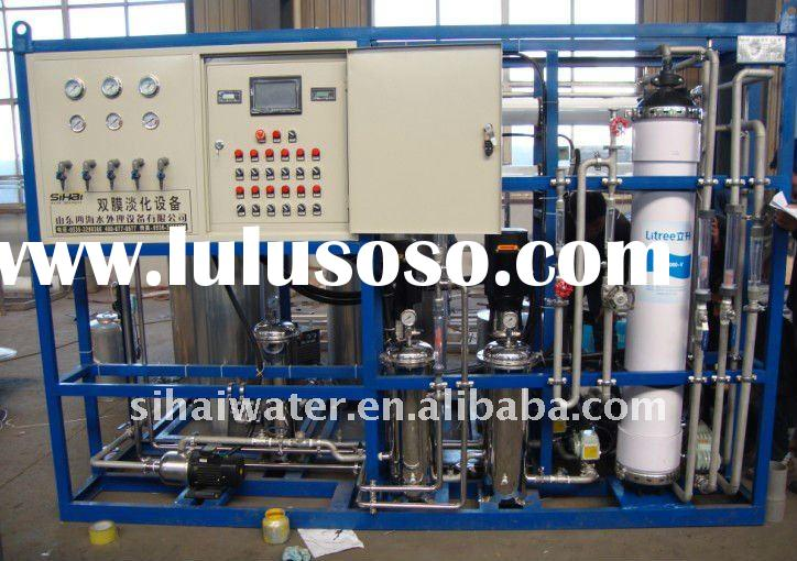 seawater desalination plant, reverse osmosis water treatment machine