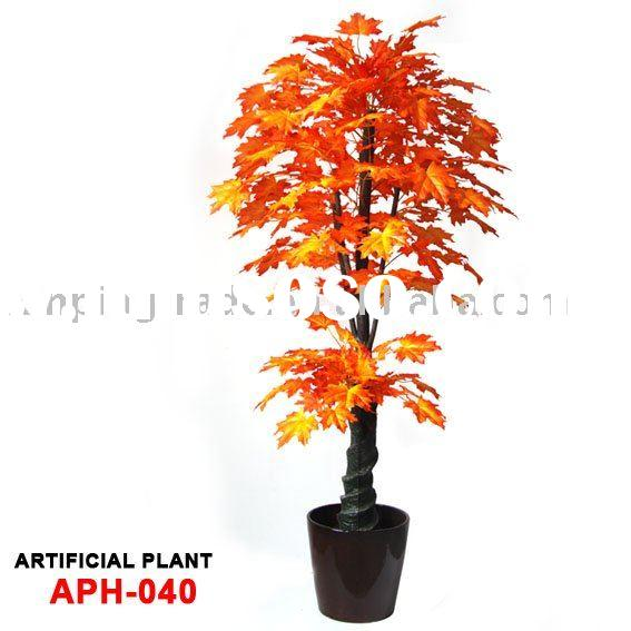 sell artificial trees & likelife Canada maple tree